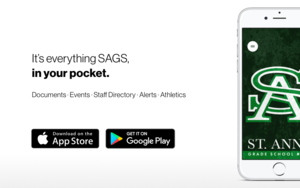 New SAGS mobile app!