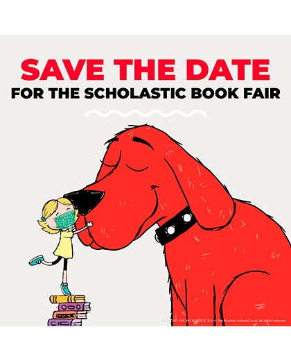 save the date book fair