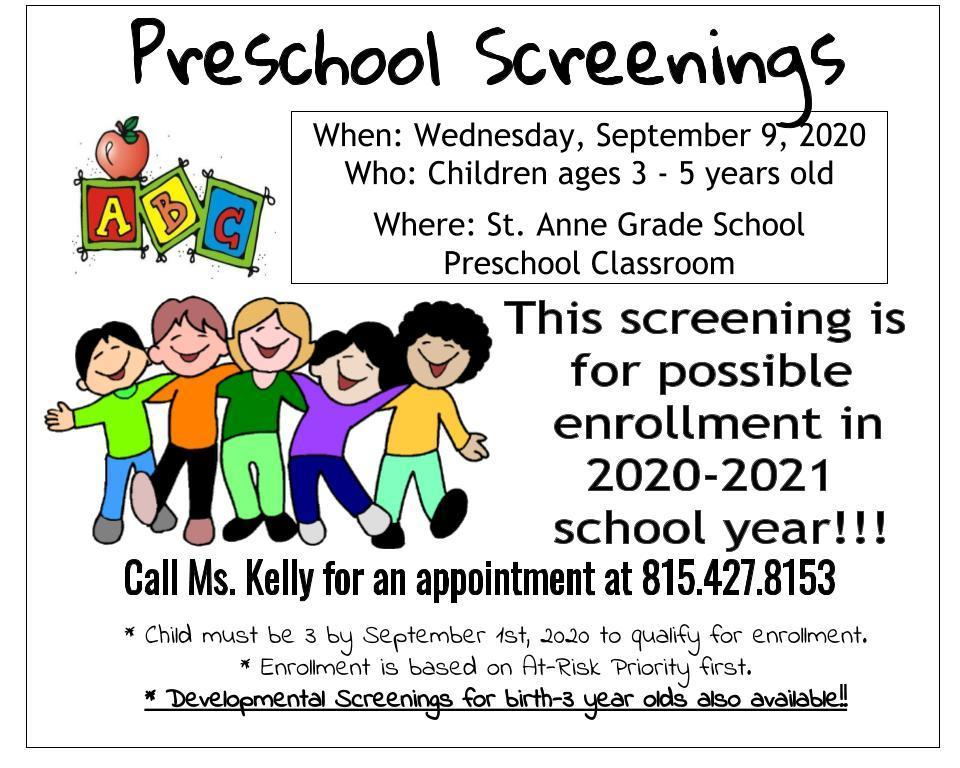 Pre-School Screening